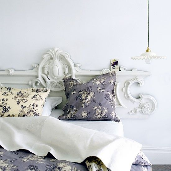 Classic French Style Bedroom A Painted Antique Frieze Can Create A Dramatic Bedhead