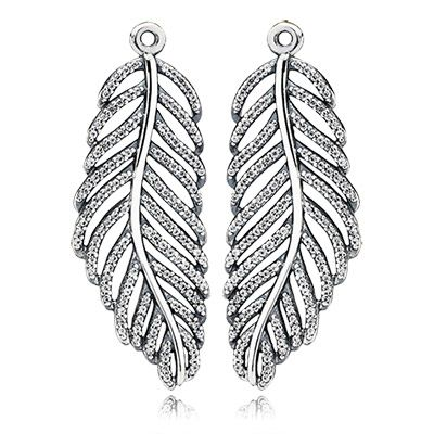 PANDORA | Light as a feather, clear cz