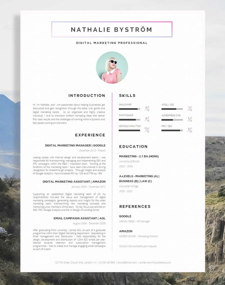 17 Awesome Examples of Creative CVs / Resumes Guru in