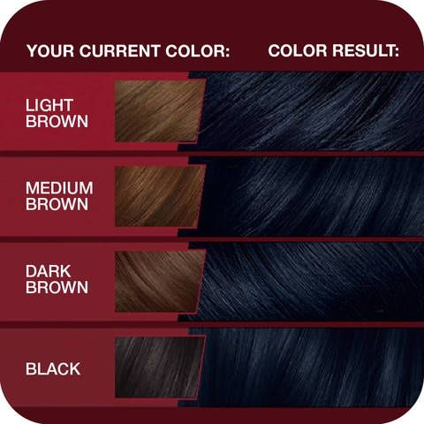 Is There A Good Blue Hair Dye Without Bleach For Dark Hair Quora Haarfarben Pflaume Haar Lila Haare