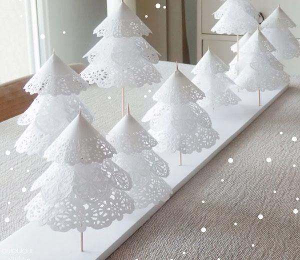 Vous avez envie d'une décoration de table originale pour Noël ? Nous avons quelques idées faciles à réaliser pour vous.