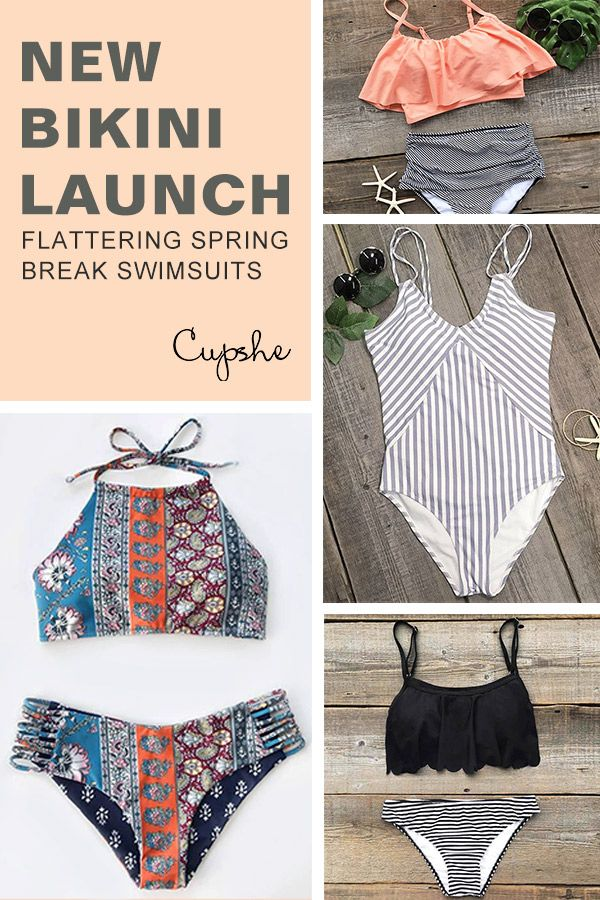 Free shipping&perfect price-start with Only $8.99! Our brand new bikini collection is launched for your reference! Falbala style, striped or ethnic style! Your choice for the most flattery bikinis at Cupshe.com !