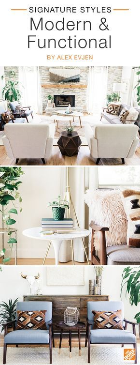 A few quick refreshes can make your family room comfortable, calming and kid-friendly. Start with a neutral palette for a relaxed vibe. Choose practical furnishings like pieces with ample storage and soft seating that's easy to clean. We partnered with blogger Alex Evjen to create this chic and inviting space. Click to explore her selected products.