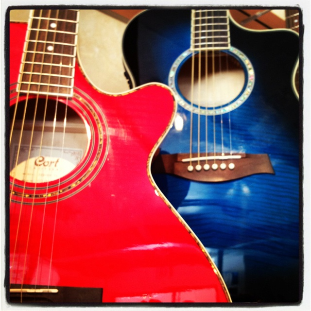 Red White And Blue Guitars Guitar Blue Red