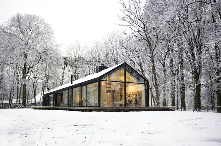 Modern Cabins I'd Love to Curl Up In. ~ETS #architecture