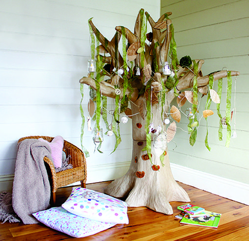 The Giant Papier Mache Tree would make a great addition to any Play room or Classroom!