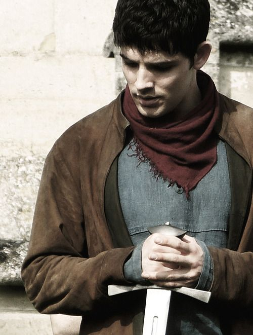 Merlin season 5. People keep going on about how he was so buff in the last season but I couldn't care less. He basically stopped smiling in season 5, I miss his smile. I don't care if he's a toothpick, I want his smile back