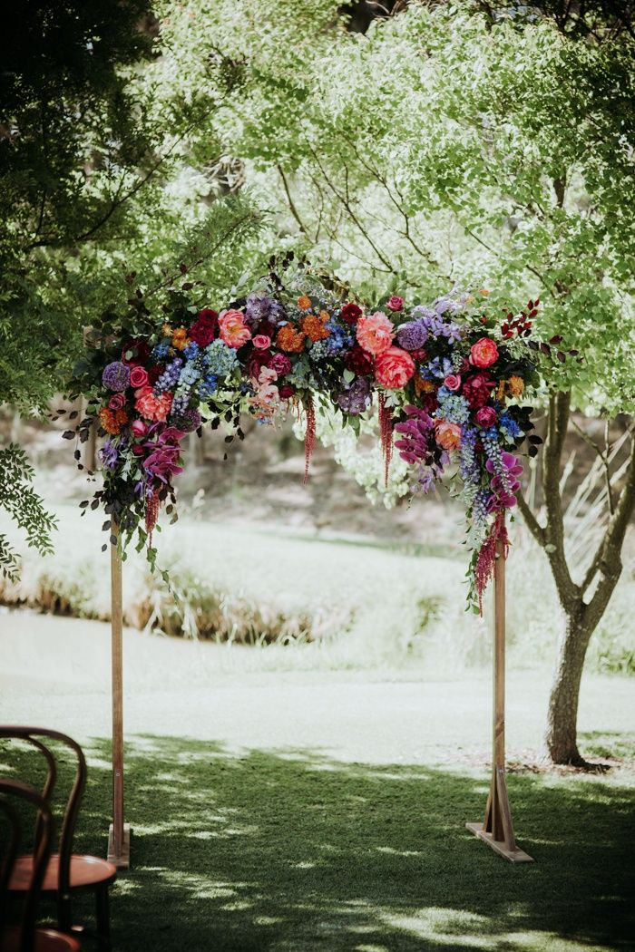 Floral arch | Image by Black Bird Tale