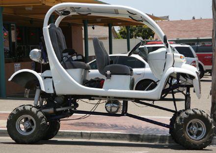 All-electric GEM vehicle gets off-road makeover