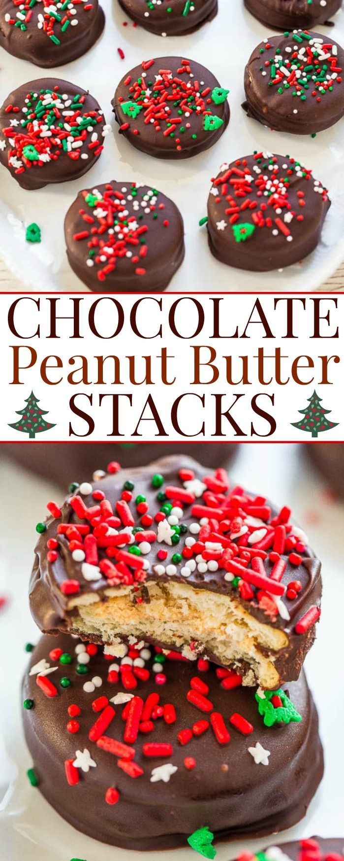 Chocolate Peanut Butter Stacks