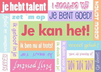 succes wensen spreuken examen | Bewust In Wording   Positivity, Quotes en Coaching succes wensen spreuken