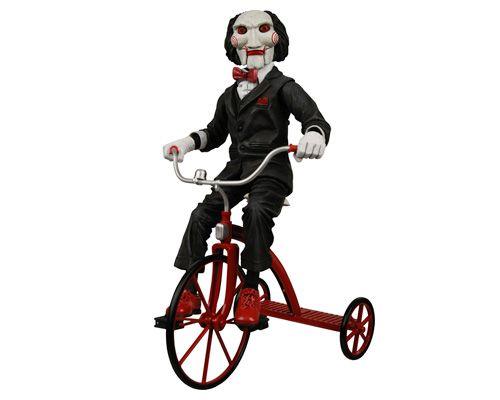 Фигурка Neca Кукла Пилы на трёхколёсном велосипеде
