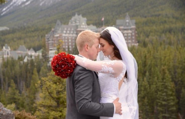 Banff Fairmont Hotel wedding
