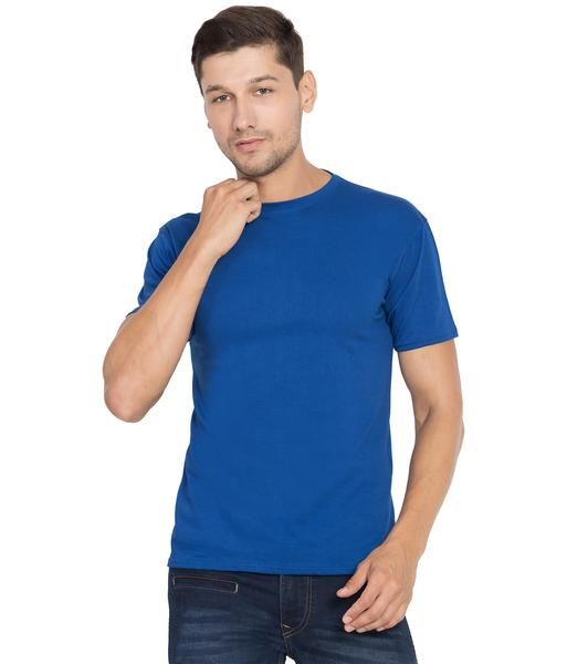 6c8c4059f Shop the latest collection now, Men's Royal Blue Round Neck Solid T-shirts  . Buy Printed Tshirts, Trackpants, Lowers, Bags, Curtains and lots more  with ...