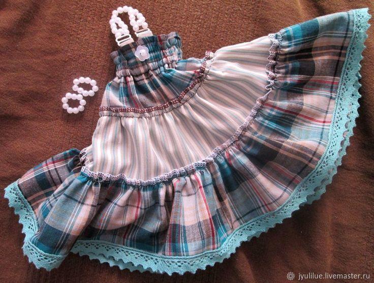 Шьём сарафан для BJD куклы Рукоделие - мастер классы, выкройки, идеи
