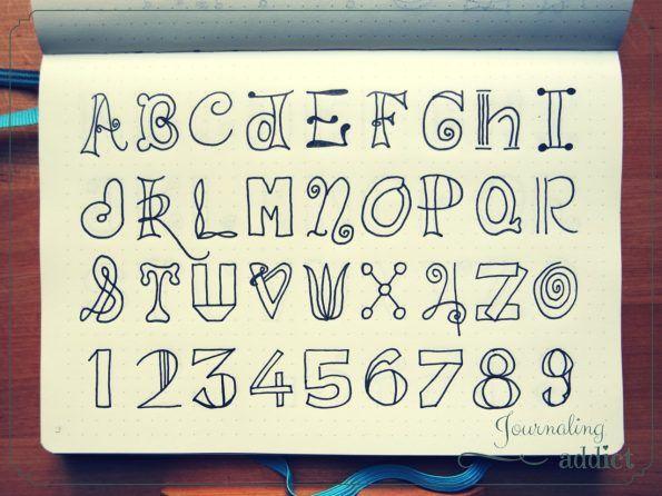 doodles alphabet 5