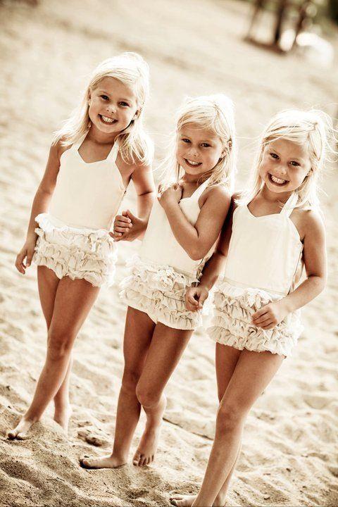 Omg blonde triplets ahhhh I'd die!!!