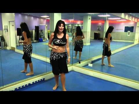 Belly Dance Tutorial - How to do Double drops with Nuala - YouTube