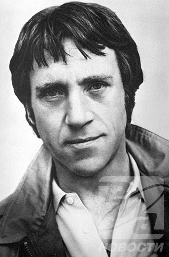 Vladimir Semyonovich Vysotsky - Soviet singer, songwriter, poet, and actor.  Born: January 25, 1938, Moscow  Died: July 25, 1980, Moscow                                        http://en.wikipedia.org/wiki/Vladimir_Vysotsky