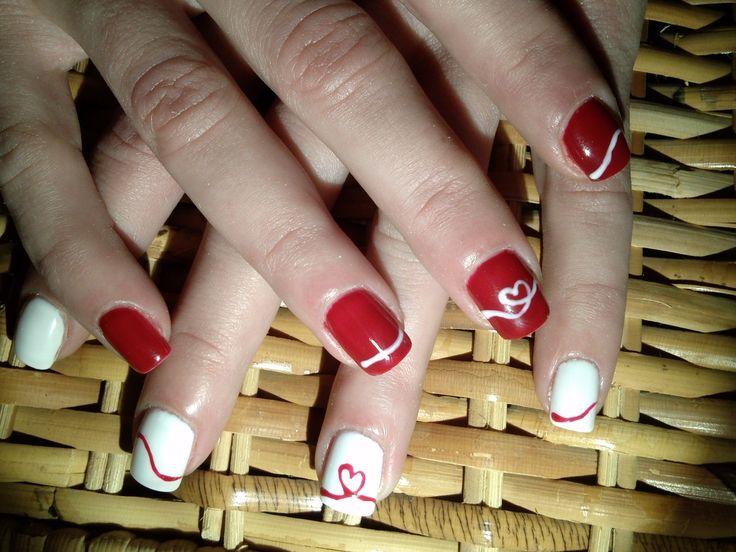 white,red,love,heart