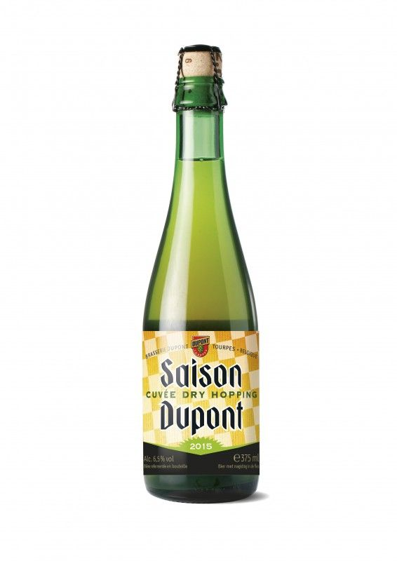 Cerveja Saison Dupont Cuvée Dry Hopping, estilo Saison / Farmhouse, produzida por Brasserie Dupont, Bélgica. 6.5% ABV de álcool.