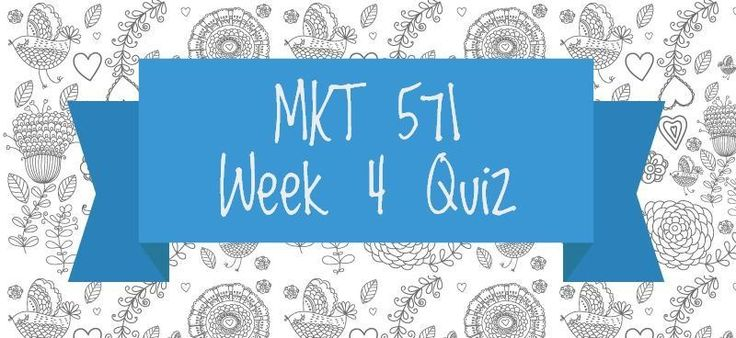 MKT 571 Week 4 Quiz1. Companies are pursuing which objective when they start with prices high and slowly drop them over time?2. Which strategy is appropriate when there is low brand loyalty in a category and brand choice is made in the store?3. What type of distribution places the goods or services