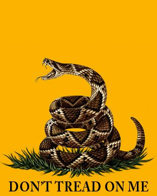 new don 39 t tread on me gadsden flag as background screen