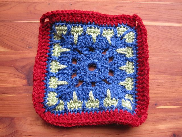 Ravelry: Project Gallery for Kaleidoscope afghan square ...