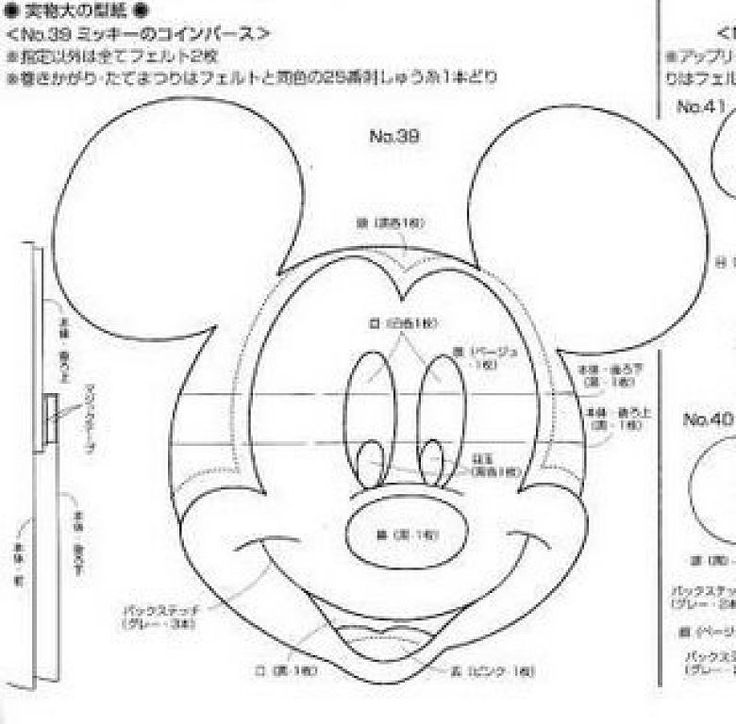 Mickey Mouse Pattern rato