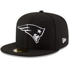 Out of stock - New England Patriots New Era B-Dub 59FIFTY Fitted Hat - Black
