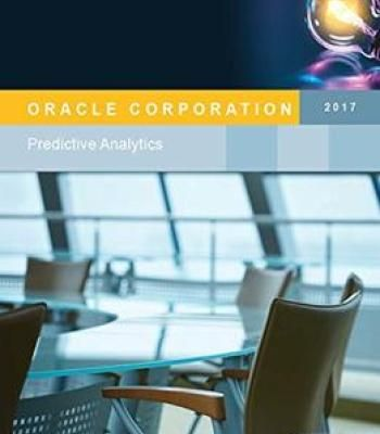 Oracle Corporation Predictive Analytics Report PDF