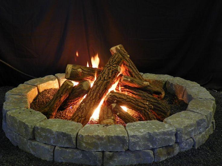 Pinterest'teki 25'den fazla en iyi Fake fireplace logs fikri