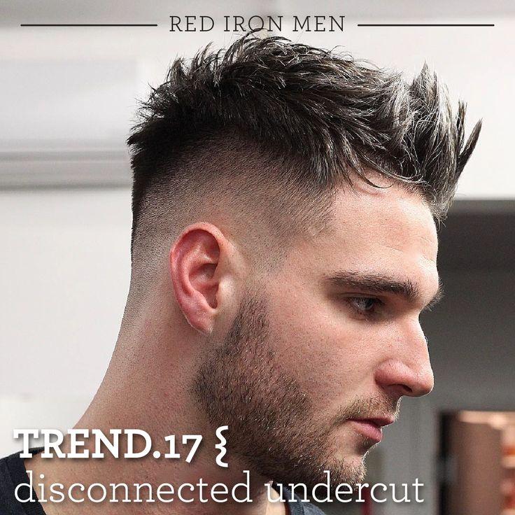 O corte undercut desconectado é caracterizado por um contraste nítido entre os lados muito curtos ou raspados e cabelo mais longo e repicado na parte superior. Originalmente, este corte de cabelo clássico era simplesmente penteado para trás. Hoje, o undercut moderno é cortado de diversas maneiras e com diferentes comprimentos garantindo um visual despojado e casual. #redironmen #haircuts #hair #hairstyle #barbershop #barbeariabrasil #pomadaparacabelo #Barbershopconnect #barber #barbersfade…