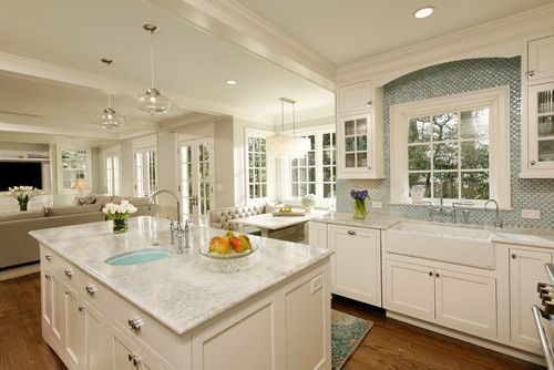 refinishing kitchen cabinets white this shaker kitchen with bump out banquette gorgeous 25304