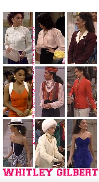 After I started the series with Lena, I of course had to do the star of the show: Whitley Gilbert. Whitley's style was the complete opposite of Lena's. Lena would buy clothes and then a…
