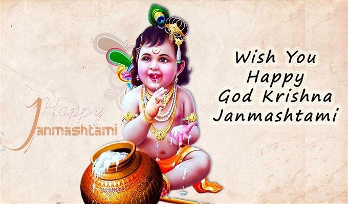 Janmashtami Lord Krishna Wallpaper