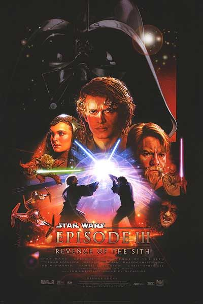 definitely had this on my wall growing up. <3Movie Posters, Wars Episode, Revenge, Episode Iii, Sith 2005, Star Wars, Stars Wars, Favorite Movie, Starwars