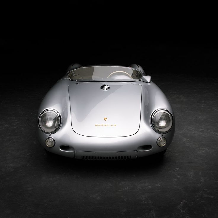 Ralph Lauren's 1955 Porsche 550 Spyder, aluminum bodied and the same model (#61 of the 90 that were made) that James Dean died in.  It's 110 hp in a car that weighs less than a modern day F1 car.