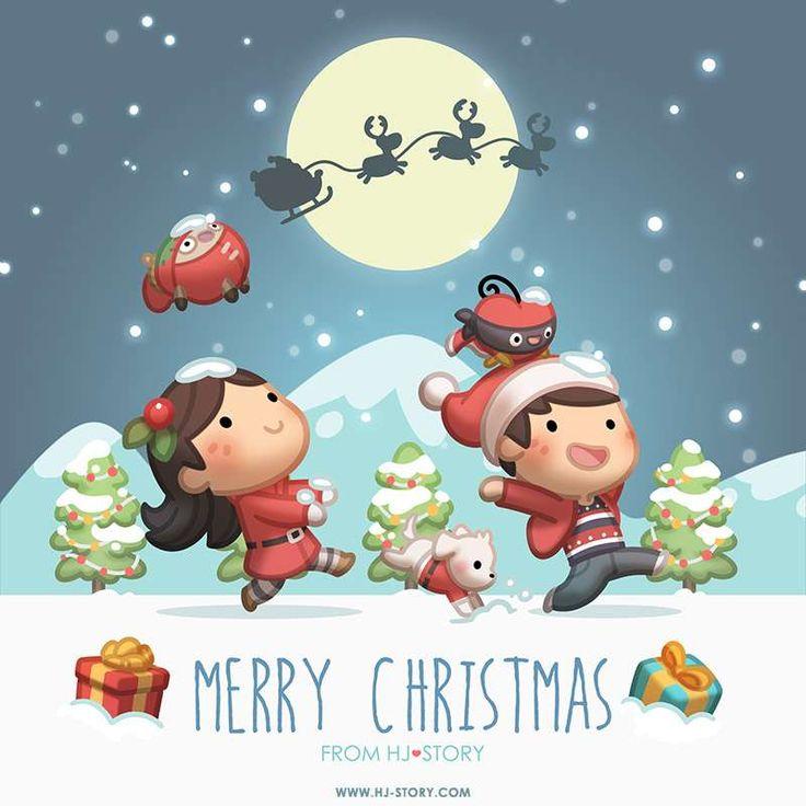 HJ-Story :: Merry Xmas 2015 | Tapastic Comics - image 1