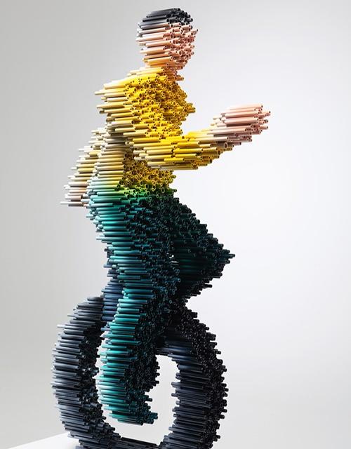 Arte com tubos