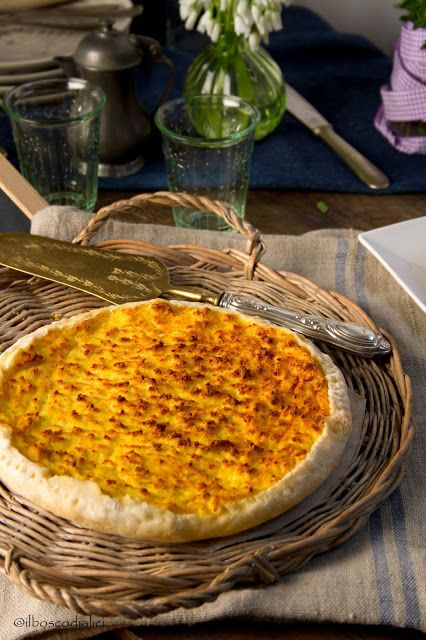 the forest of anchovies: Potato cake Garfagnana