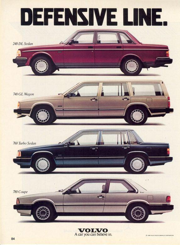 Volvo advertisment, 1988
