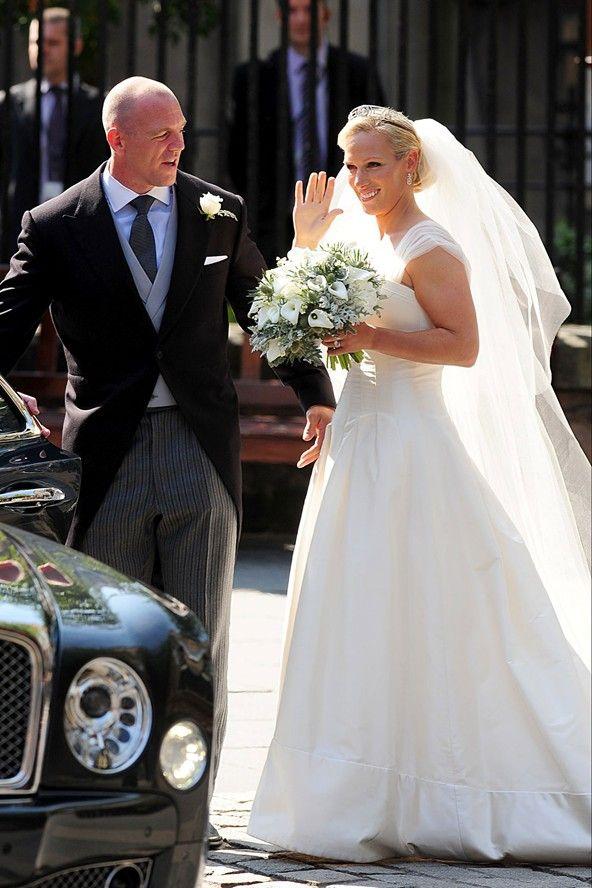 Zara Phillips - another Royal Wedding   Fairly Modern ...
