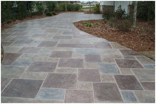 1000 Ideas About Stamped Concrete Patterns On Pinterest