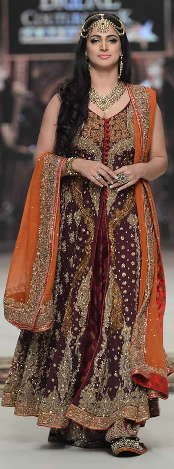 #AishaImran Telenor #BridalCoutureWeek 2014 Souvenir Collection #BridalDresses #BridalCollection