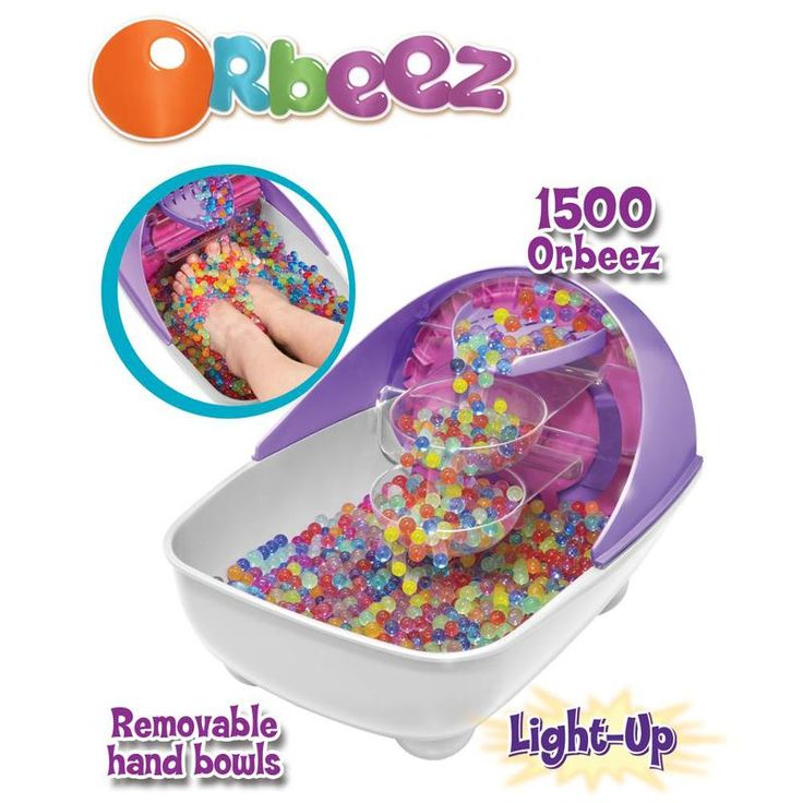 Orbeez Soothing Spa Orbeez are wet and wacky, soft and squishy, fun and funky! The Orbeez Soothing Spa offers girls the ultimate spa experience! Place the Orbeez in the foot tub and immerse your feet in the squishy softn http://www.MightGet.com/january-2017-13/orbeez-soothing-spa.asp