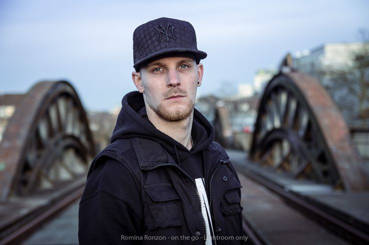 Portrait taken on old rails in Mülheim, Ruhrarea, Germany.   Model: Benny Sonntag  Photographer: Romina Ronzon | Follow me on Facebook - www.facebook.com/rominaronzon
