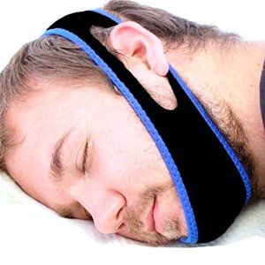 ZHENBAOTIAN Chin Strap Arrêtez Snore Anti Sleep Apnea Anti Ronflement Jaw Strap W Programme sommeil gratuit Arrêter de ronfler No Sleep…