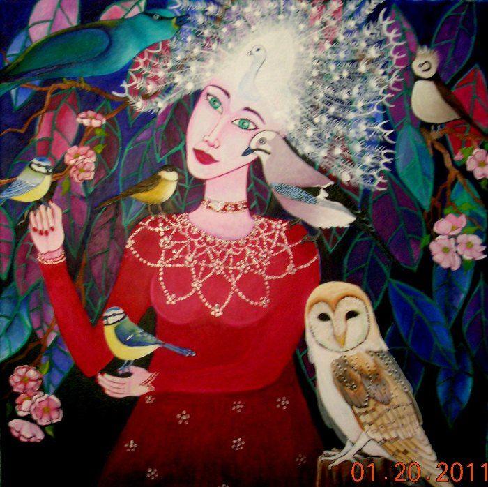 The birdwoman