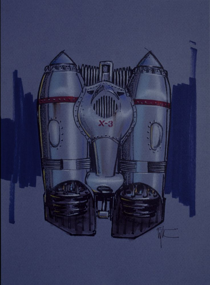 Rocketeer concept art.